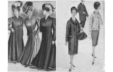 История возникновения женского пальто